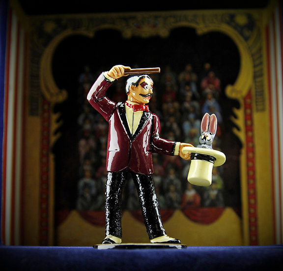Charles Acadabra the magician