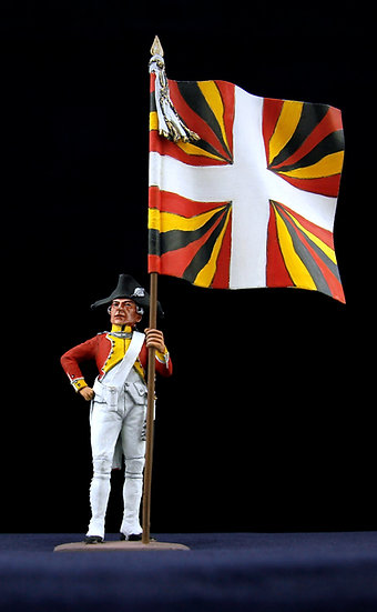 Eptingen swiss regiment standard bearer