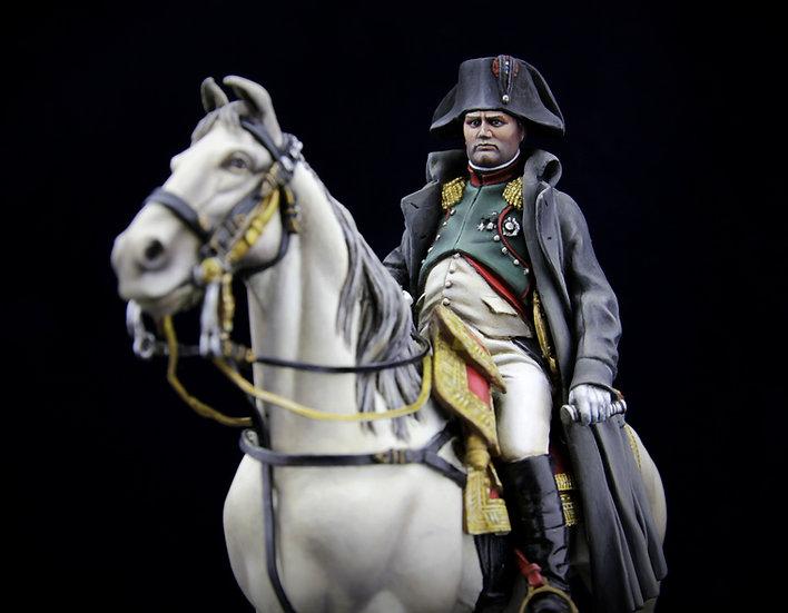 Napoleon on horseback (1814 french campaign)