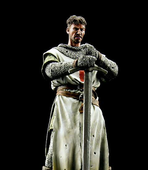 Templar with longsword