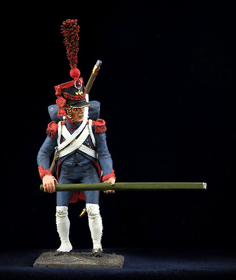 Imperial Guard artillery gunner with lever II