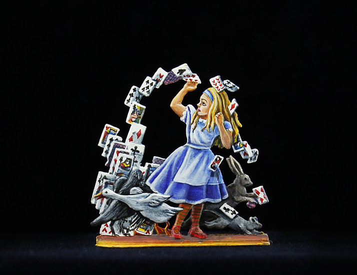 Alice in the cards vortex