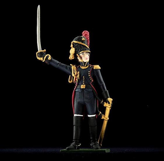 Imperial Guard gunner Officer