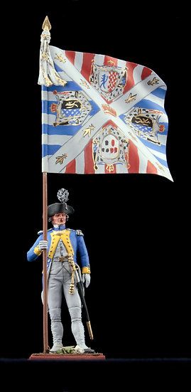 Deux-ponts regiment standard bearer