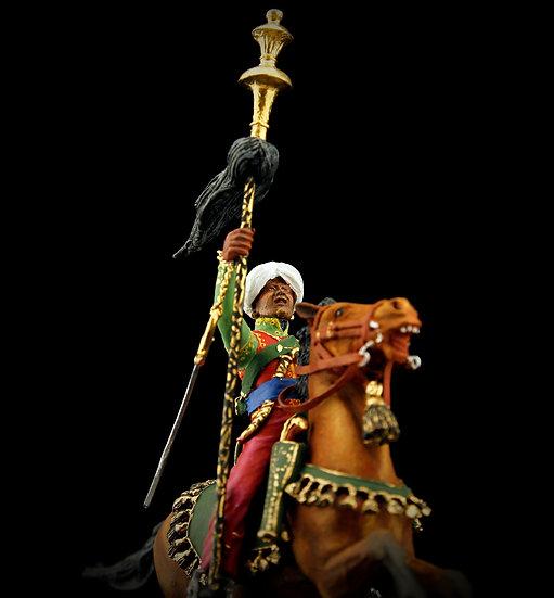Mamluk standard bearer