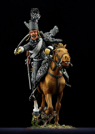 Death hussar leaning