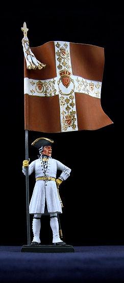 Navarre regiment standard bearer