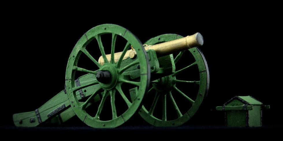 6 pounder gun