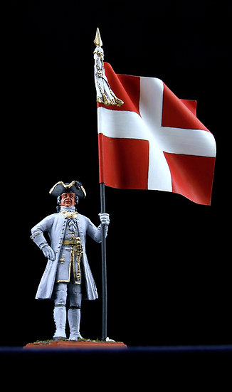 Picardie regiment standard bearer