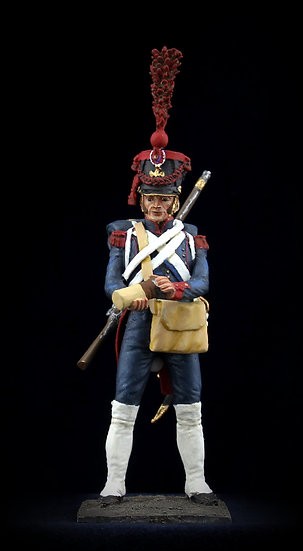 Imperial Guard artillery gunner with satchel