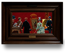 "One upon time the ""Belle Epoque"" - miniatures art gallery and life from the 19th century."