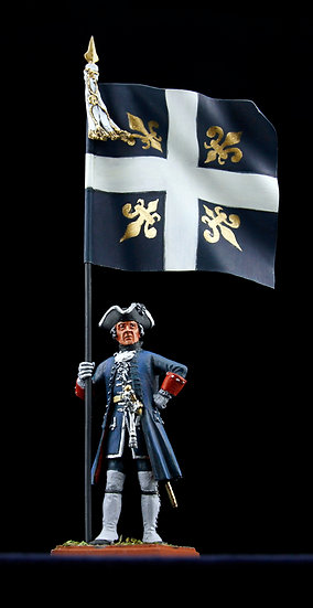 Royal-Suédois regiment standard bearer