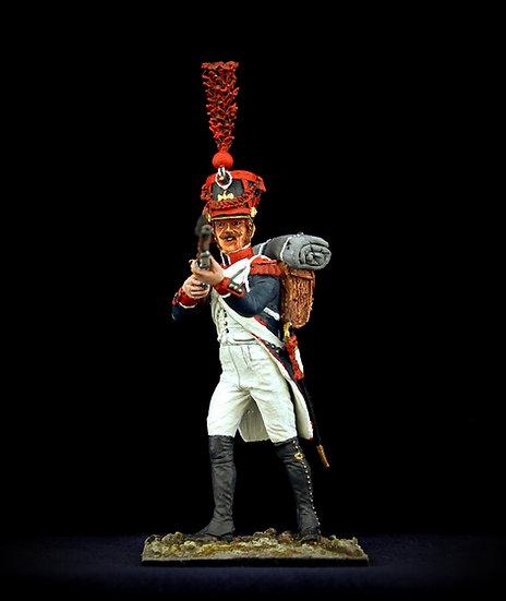 Grenadier, aiming