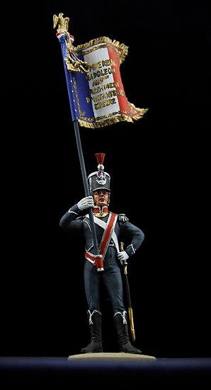 9th regiment of light infantry flag bearer