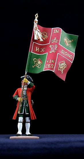 Berwick regiment standard bearer