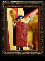 Notre collection des figurines du Cirque en métal et en 3D