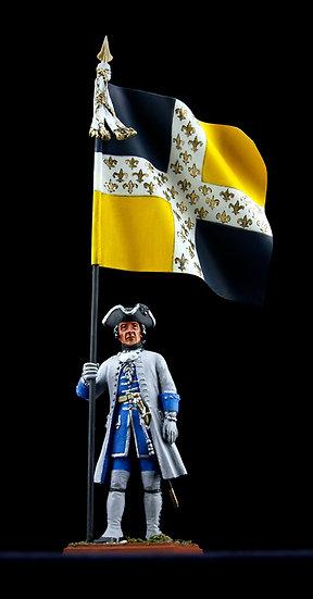 Royal-La Marine regiment standard bearer