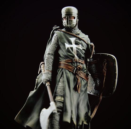 Hospitaller black knight XIIIth century
