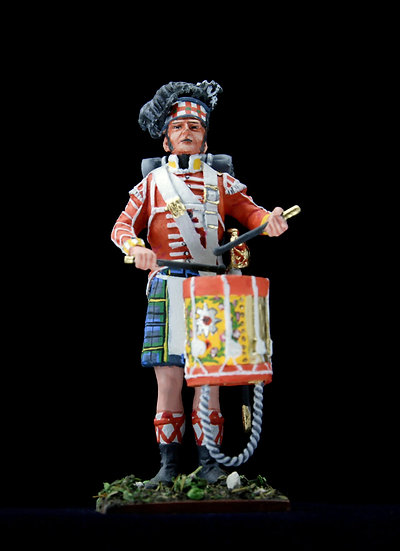 Gordon highlanders drummer