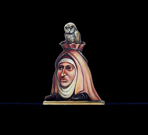 Owl-headed lady