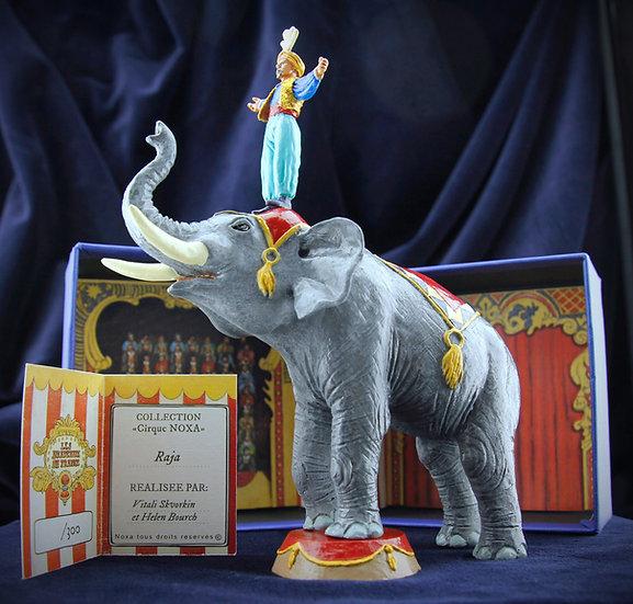 Raja and his elephant