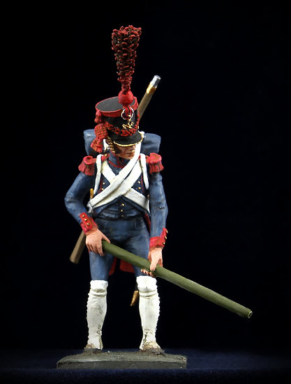 Imperial Guard artillery gunner with lever