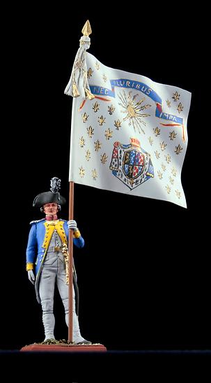 Lauzin legion standard bearer