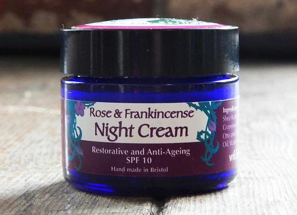 Rose and Frankincense Night Cream