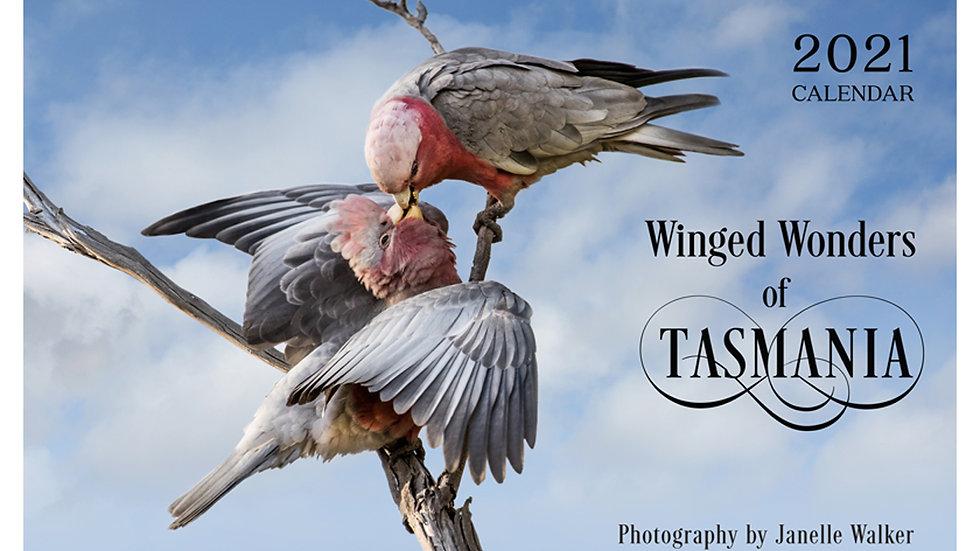 2021 Calendar - Winged Wonders of Tasmania