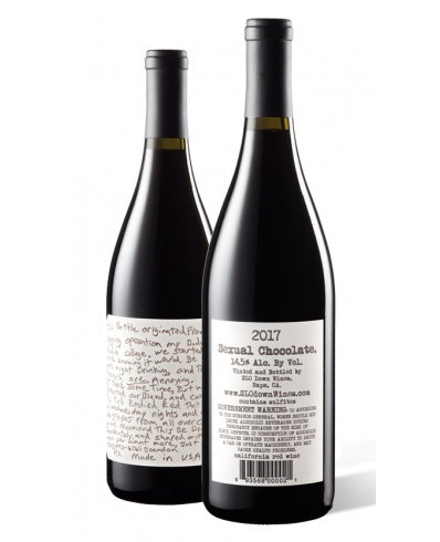 Slo Down Wines Sexual Chocolate Red 2017