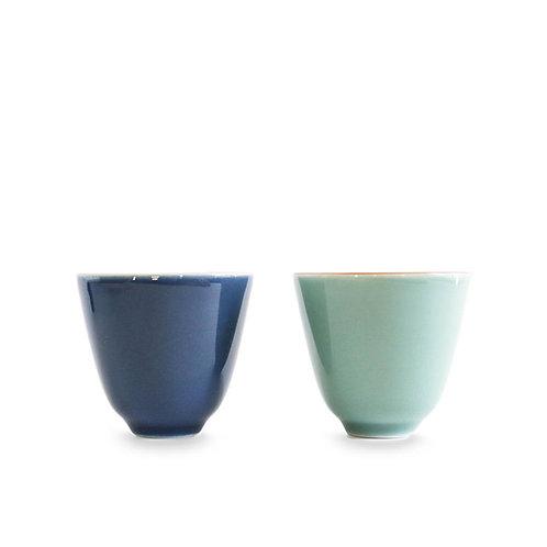 Teacup, Cyan | Dazzle Deer | Premium Chinese Tea & Teaware