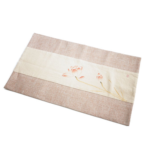 Hand-painted Tea Mat for Tea Ceremony | Dazzle Deer | Premium Chinese Tea & Gongfu Teawares