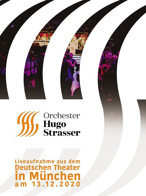 Orchester Hugo Strasser live aus dem Deutschen Theater 13.12.2020