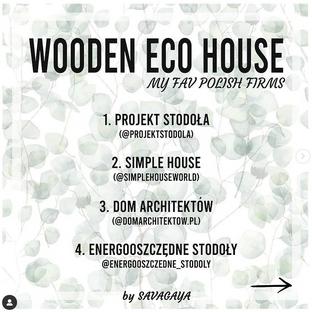 Wooden Eco House - best companies. / Drewniane Domy Modułowe - najlepsze firmy.