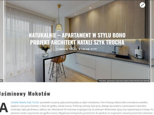Publication of an eco interior realisation