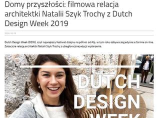 Report from Dutch Design Week