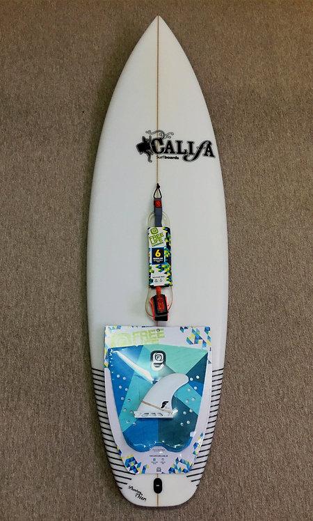 "G1 CALIFA SURFBOARDS 5´10"" + ACCESORIOS"