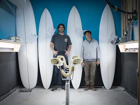"""Jeff """"Doc"""" Lausch de Surf Prescriptions en Puntas del Sur"""