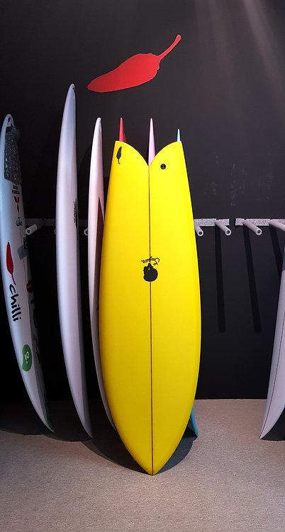 "SUGAR 5´6"" - 31.20L - Yellow"