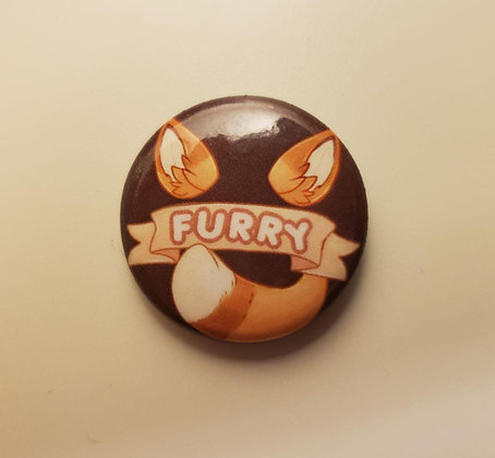Furry Mini Button