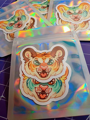 Rawr! Stickers - 2 Pack