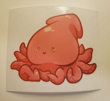 Squid Friend Sticker