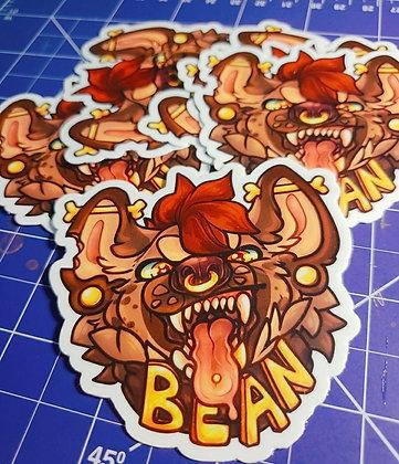 Bean the Mean Yeen Sticker