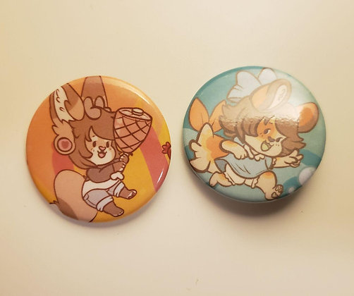 Ella & Leeoh Buttons