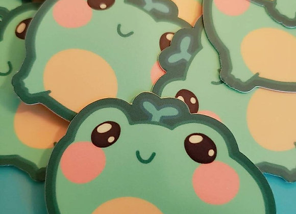 Sprout Frog Stickers