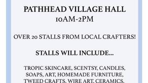 Pathhead Craft Fair - Saturday 4th Sept