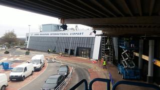 Leeds Bradford International Airport Concourse Lighting