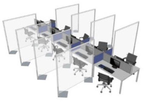 PPE Temporary Partitioning System