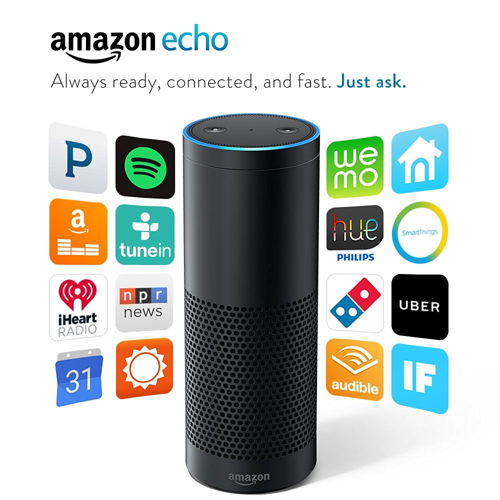 Amazon Echo, Alexa turn lights off.