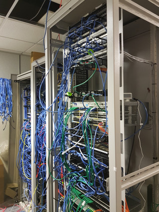 Another comms cabinet relocation